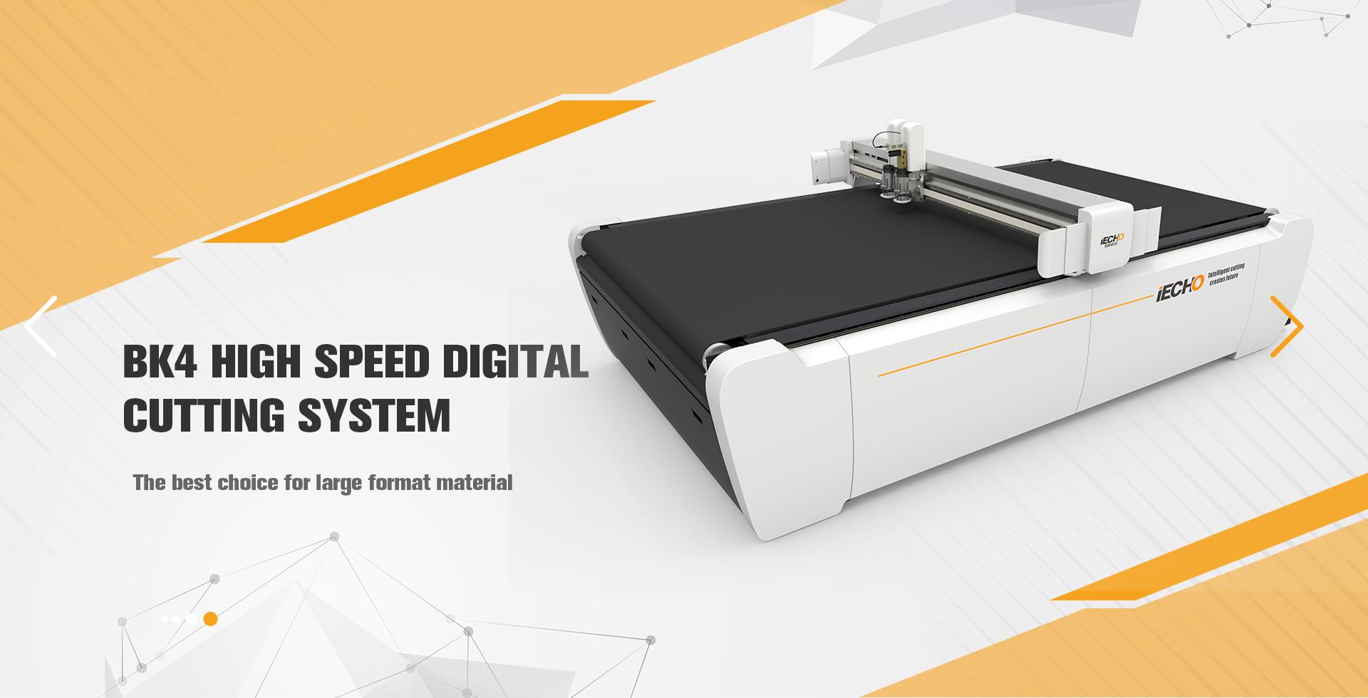 BK4 Высокоскоростной цифровой автомат для резки