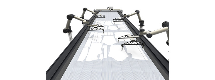 Запуск собственной разработки IECHO в области технологии управления движением оборудования для точной резки.