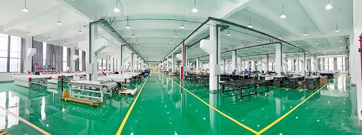 Построен исследовательский центр площадью 60000 квадратных метров и новая производственная база, а годовой объем производства оборудования может достигать 4000 единиц.