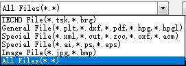 Узнаваемые типы файлов разнообразны