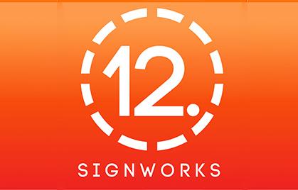 【Индустрия вывесок】 SignWorks с 12 точками. Америка